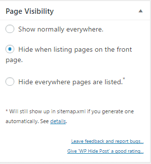 hide-page-from-homepage-wp-hide-post-image