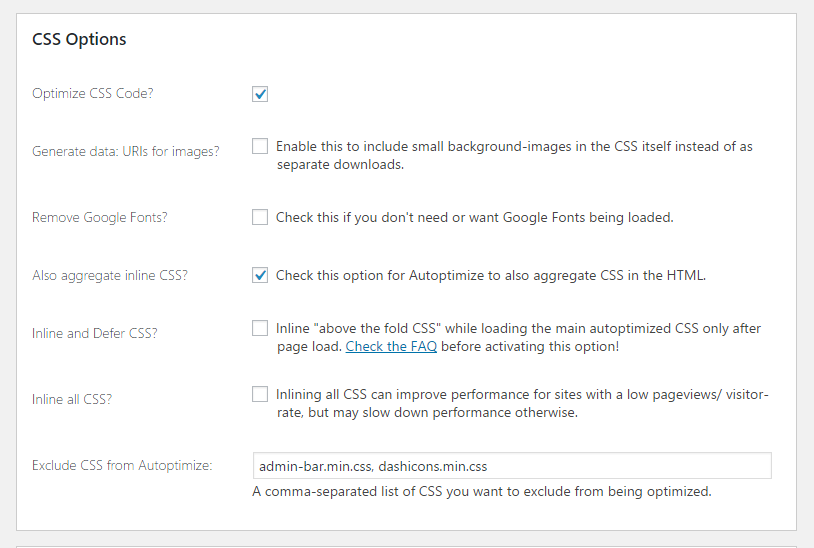 How to Configure Autoptimize for Better Performance? - WP VI