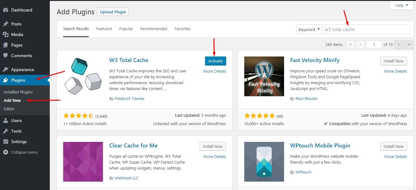 How-to-Install-WordPress-Plugins-Page-by-search-plugins-page