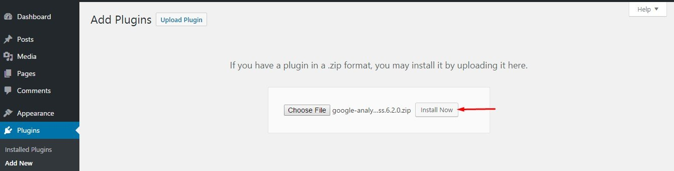 Installing-a-wordpress-plugin-by-upload-installation