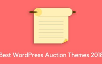 7 Best WordPress Auction Themes to look for in 2018