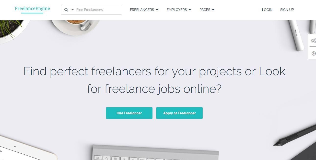 Freelance Engine WordPress Theme