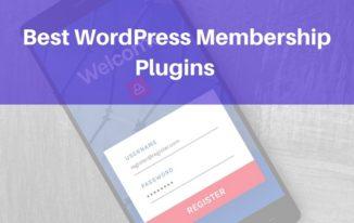 7 Best WordPress Membership Plugins 2018