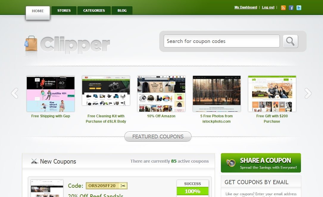 Clipper WordPress Affiliate Theme