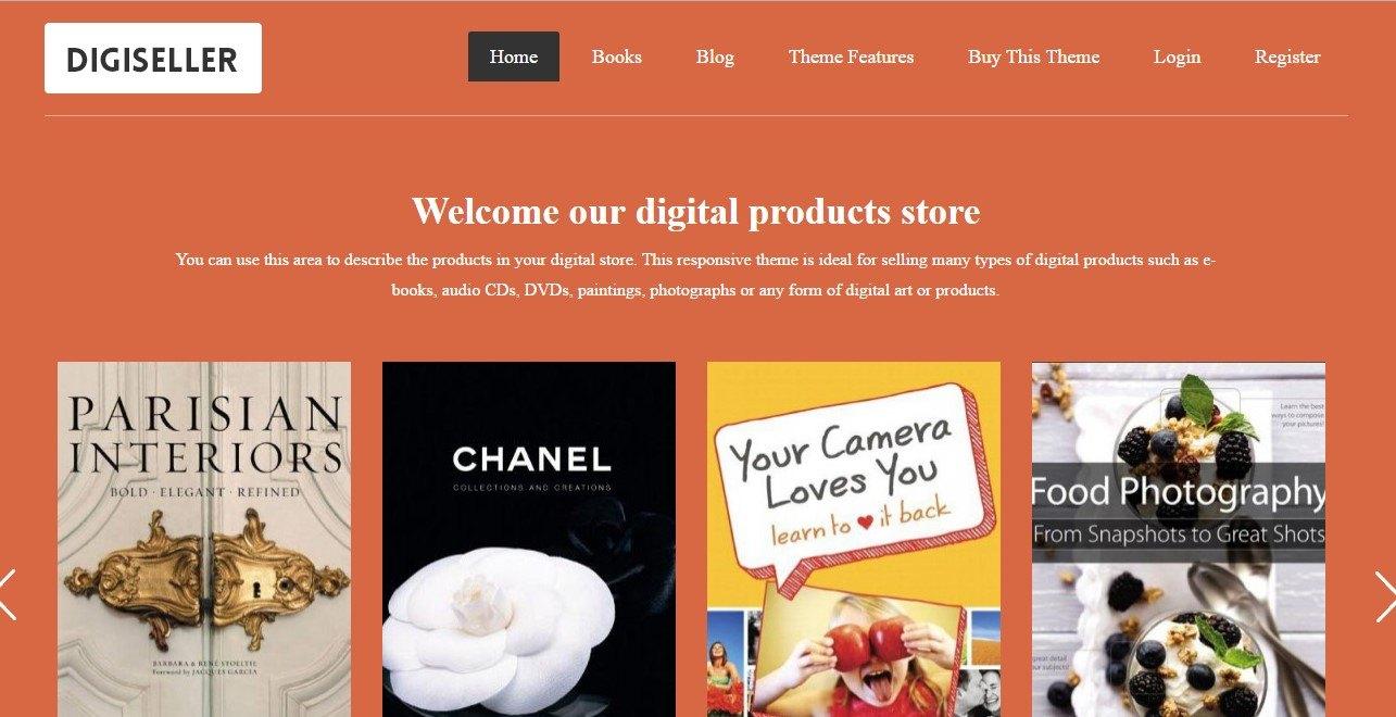 DigiSeller Amazon Affiliate WordPress Theme