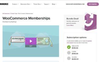 WooCommerce-Memberships