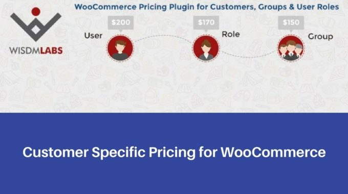 Customer Specific Pricing for WooCommerce Plugin by WisdmLabs