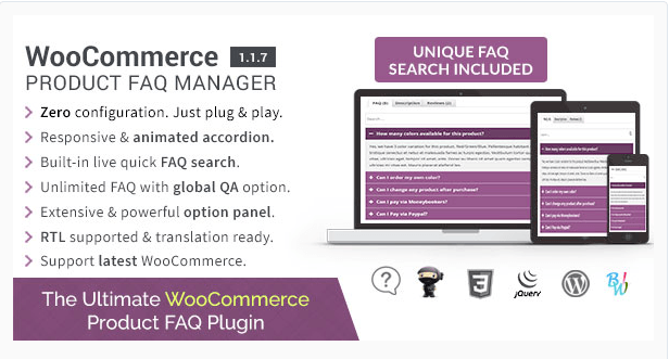 WooCommerce-FAQ-Plugin