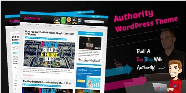 Authority WordPress Theme