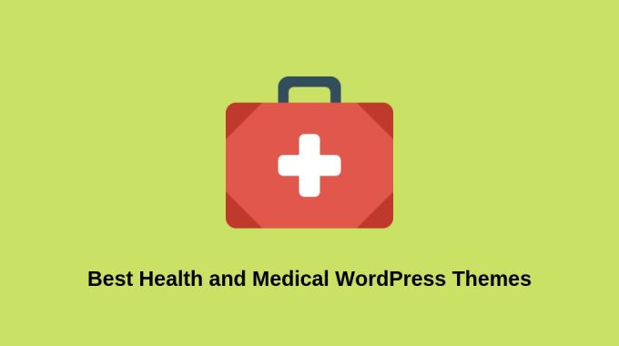 15 Best Health and Medical WordPress Themes for 2019.