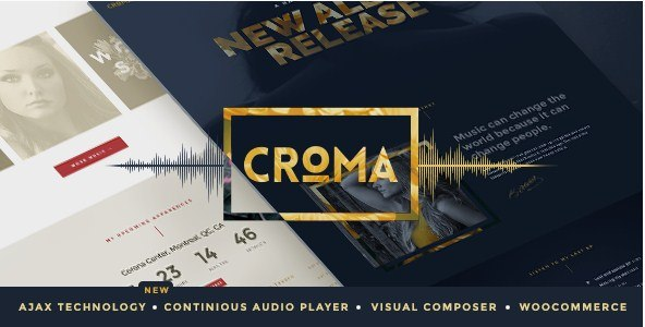 Croma-Responsive-Music-Theme