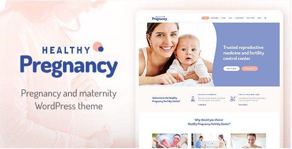 Health Pregnancy WordPress Theme
