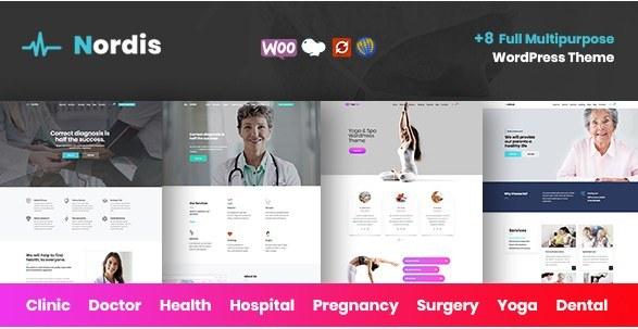 Medical Nordis WordPress Theme