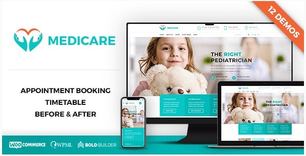 Medicare Health WordPress Theme