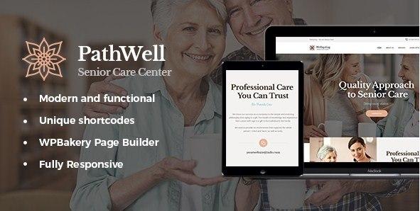 PathWell Hospital WordPress Theme