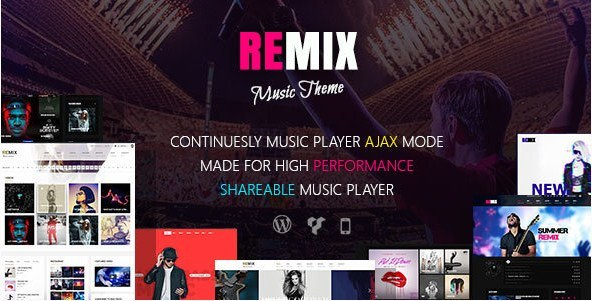 Remix-Music-WordPress-Music-Theme