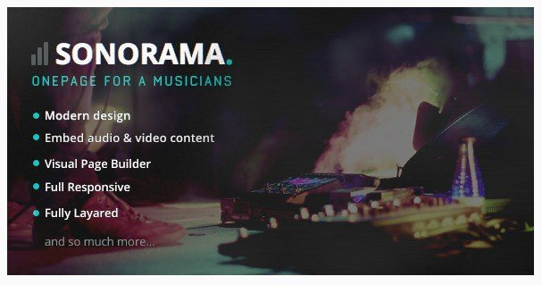 Sonorama-WordPress-Music-Theme