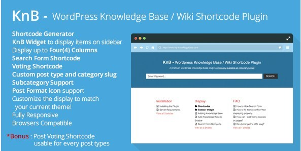 KnB-Shortcode-Plugin