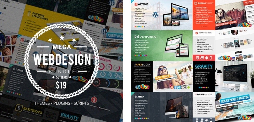 Mega-Web-Design-Bundle