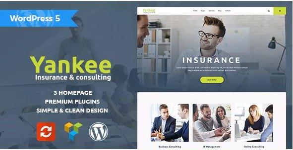 Yankee Consulting WordPress Theme
