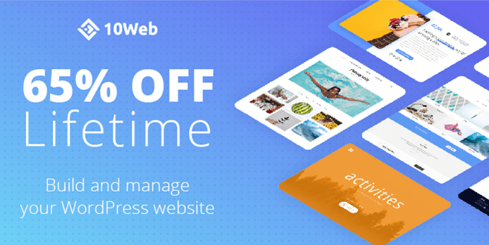 65% Lifetime OFF – 10Web