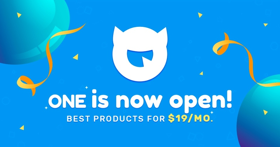 ONE BY TEMPLATEMONSTER BANNER