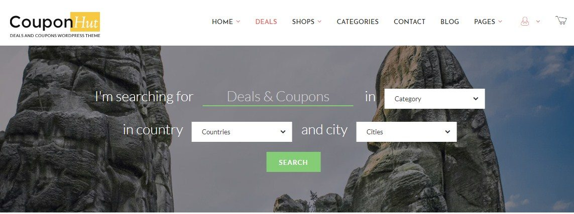 CouponHut Deals Coupons WordPress Theme