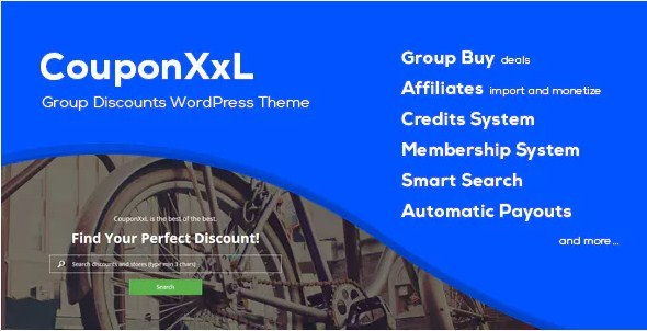 CouponXXL Discounts WordPress Theme