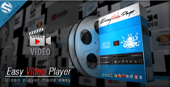Easy Video Player WordPress Plugin