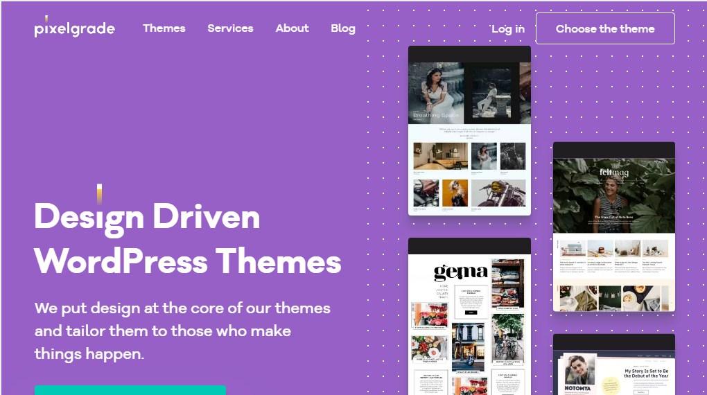 PixelGrade Premium WordPress Theme