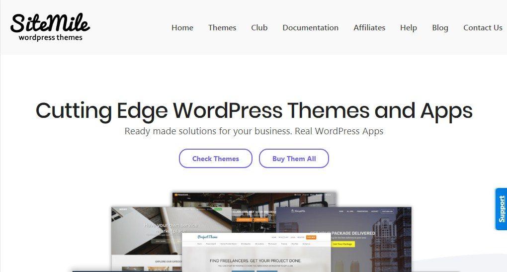 Sitemile WordPress Themes