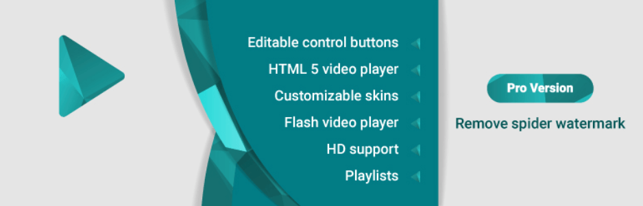 Spider WordPress Video Player Plugin