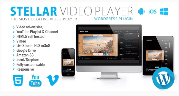Stellar Video Player WordPress plugin