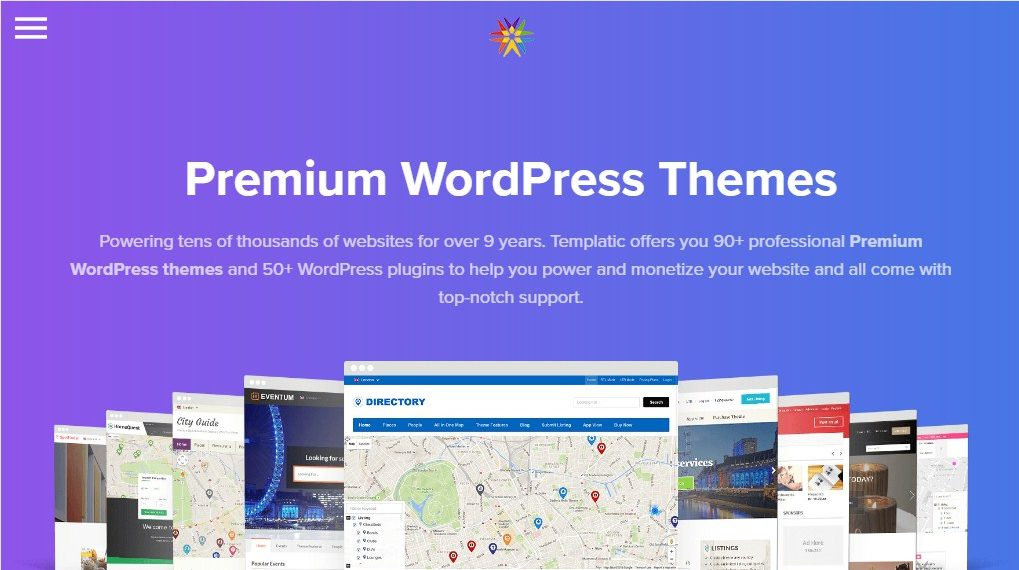 Templatic Premium WordPress Themee