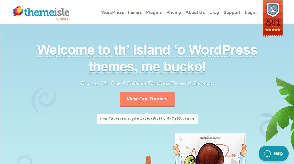 ThemeIsle WordPress Theme