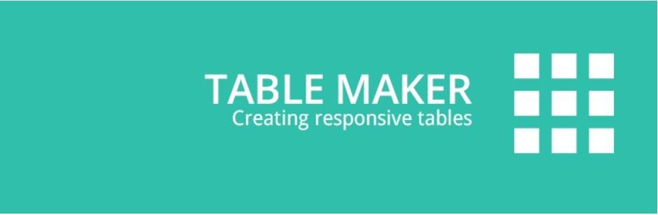 TableMaker WordPress Plugin