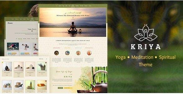 Kriya Yoga Theme