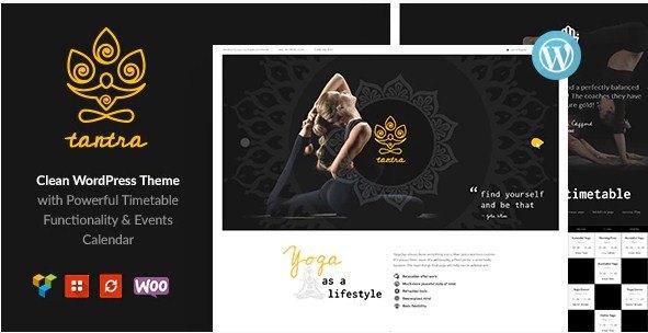 Tantra Yoga Studio WordPress Theme