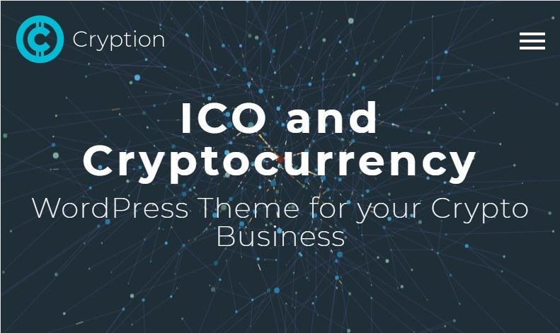 Cryption BlockChain WordPress Theme