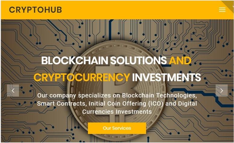 CryptoHub Crypto Theme