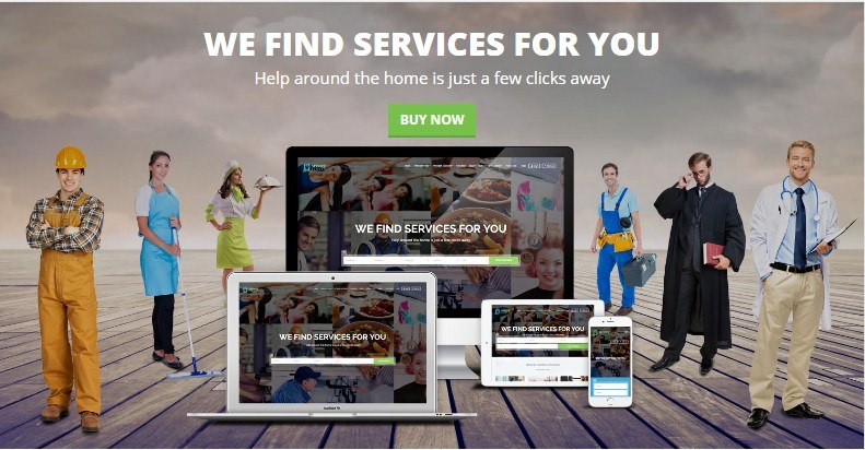 Service Finder Listings Theme