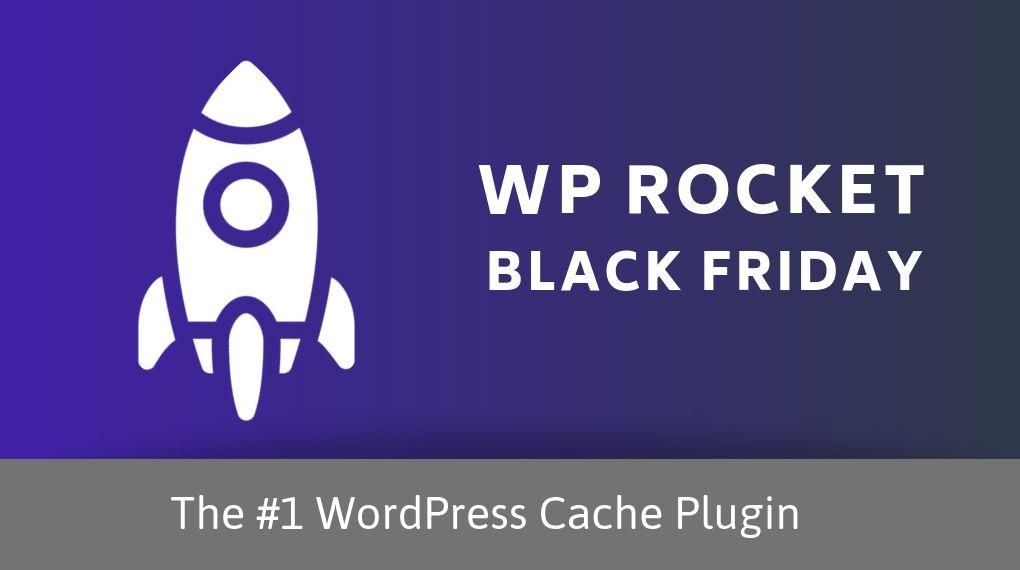 WP Rocket Black Friday Banner