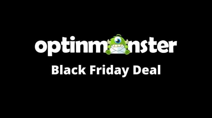OptinMonster Black Friday Deal 2019: 35% OFF