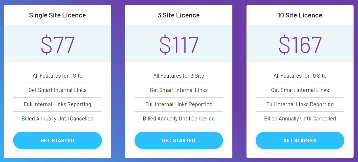 Link Whisper Pricing Plan