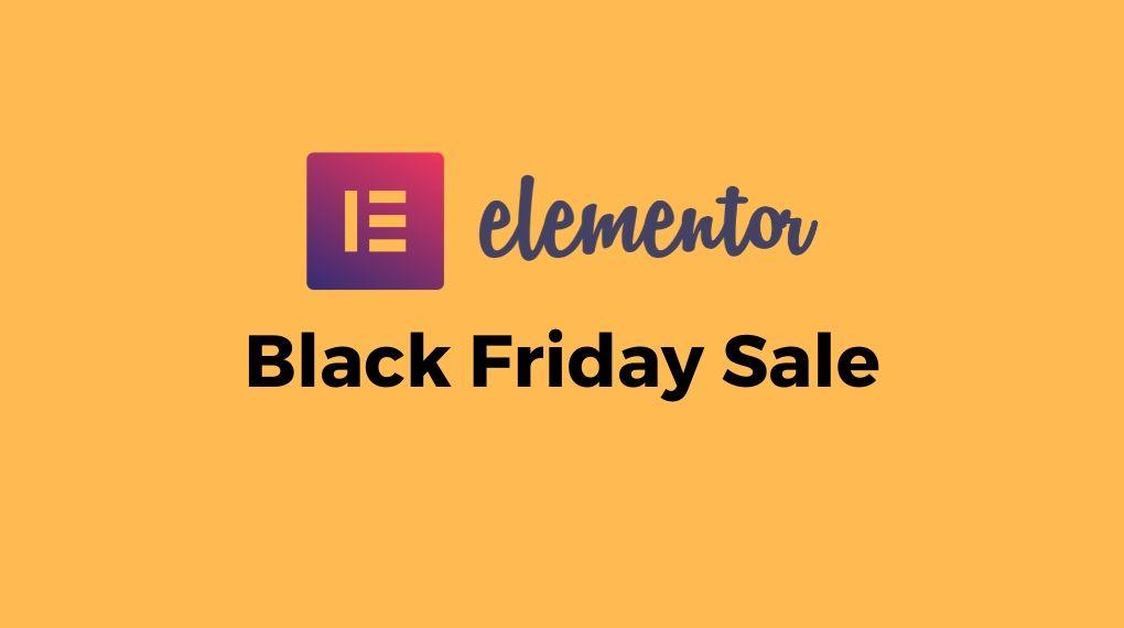 Elementor Black Friday