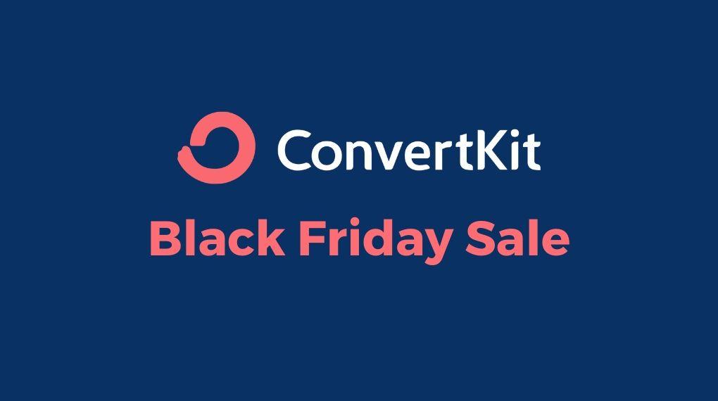 Convertkit Black Friday Deal 2020
