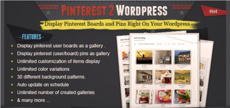 Pinterest WordPress Plugin