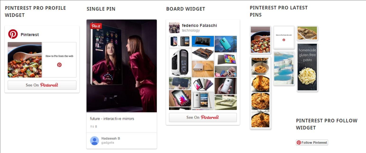 AccessPress Pinterest Plugin